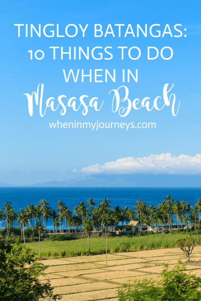 Tingloy Batangas - 10 Things To Do When In Masasa Beach Portrait