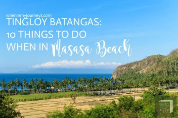 Tingloy Batangas - 10 Things To Do When In Masasa Beach