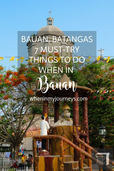 Bauan Batangas - 7 Must-Try Things To Do When In Bauan Portait