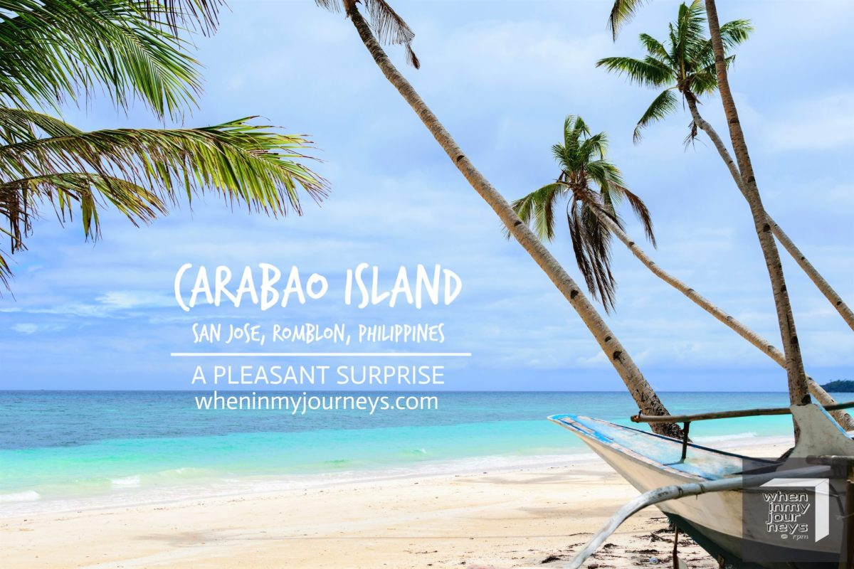 Romblon: Carabao Island, A Pleasant Surprise