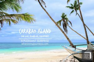 Romblon Carabao Island A Pleasant Surprise