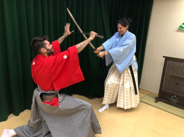 Samurai classes one of the best honeymoon activities