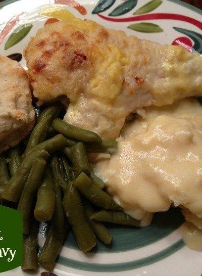 Homemade Buttermilk Chicken & Gravy