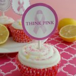 Strawberry Cupcakes with Lemon Cream Cheese Frosting