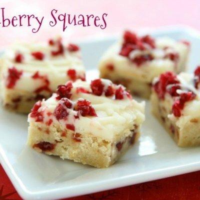 Cranberry Squares