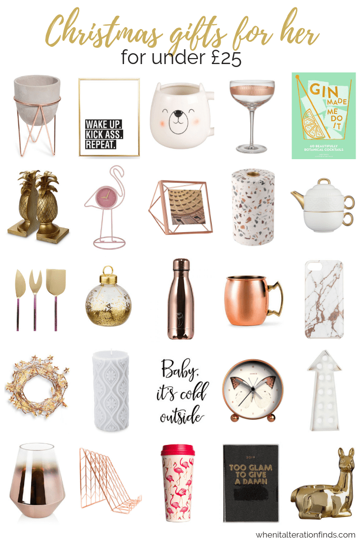 40 Awesome Christmas Gift Ideas For Her For Under 25 When It Alteration Finds