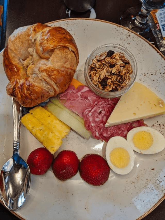 Breakfast Plate at The Vinoy
