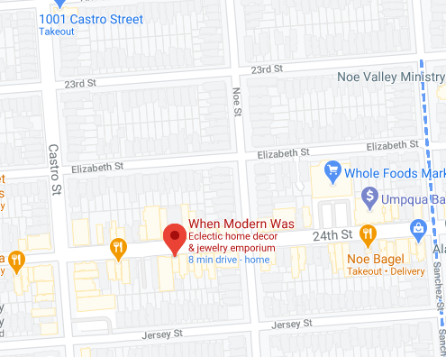 Map of Noe Valley