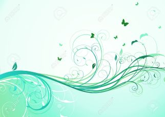 7929635-illustration-of-abstract-turquoise-floral-Background--Stock-Vector