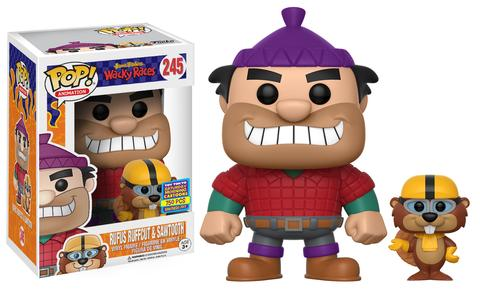 Collectables Charitable New Dorbz Ridez Wacky Races Peter Perfect W/ Turbo Terrific Figure Official