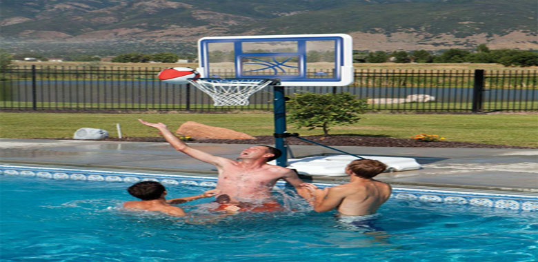 Lifetime Swimming Pool Basketball Hoops