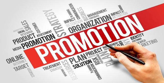 PROMOTION word cloud, business concept