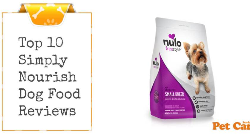 Simply nourish dog food reviews