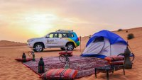 Enjoy A Grand Evening Desert Safari With BBQ Dinner