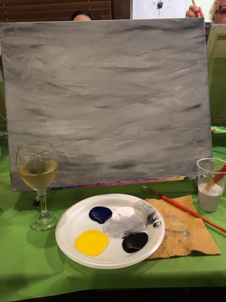 paint night canvas