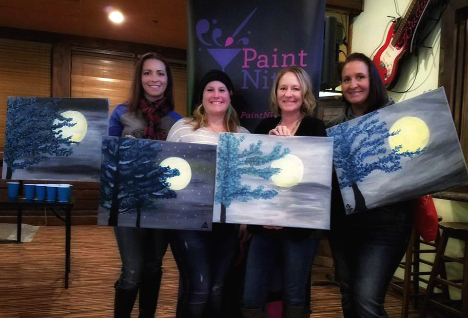 paint night