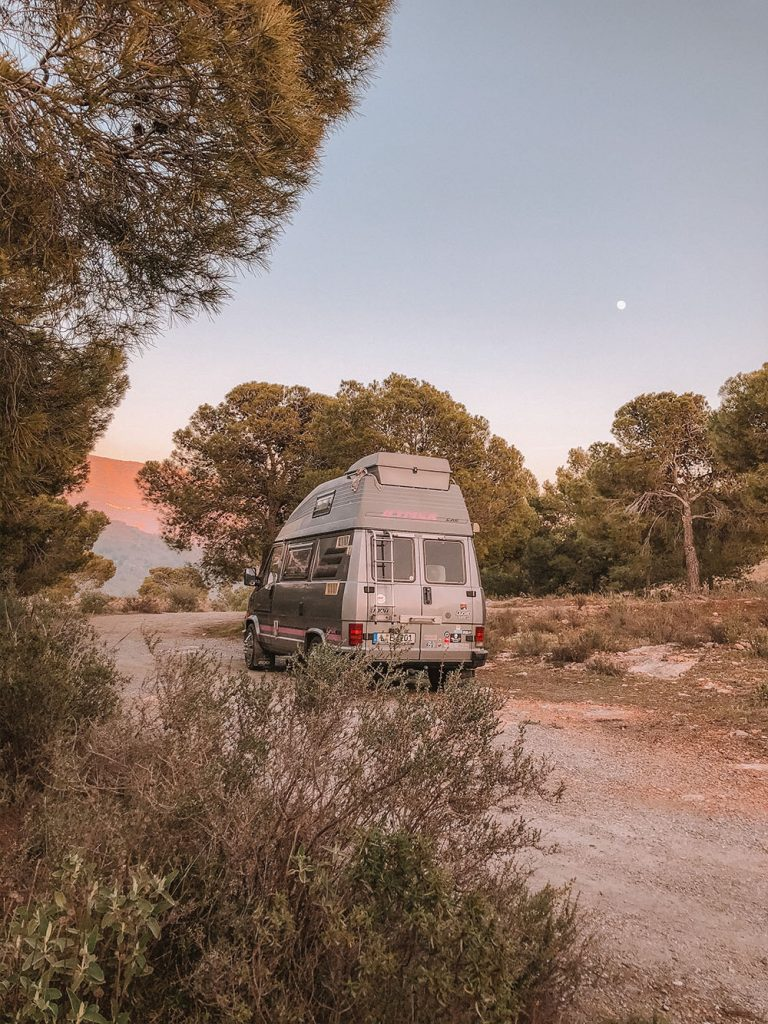 Favorite Wild Camp Spots in Spain Sierra Nevada