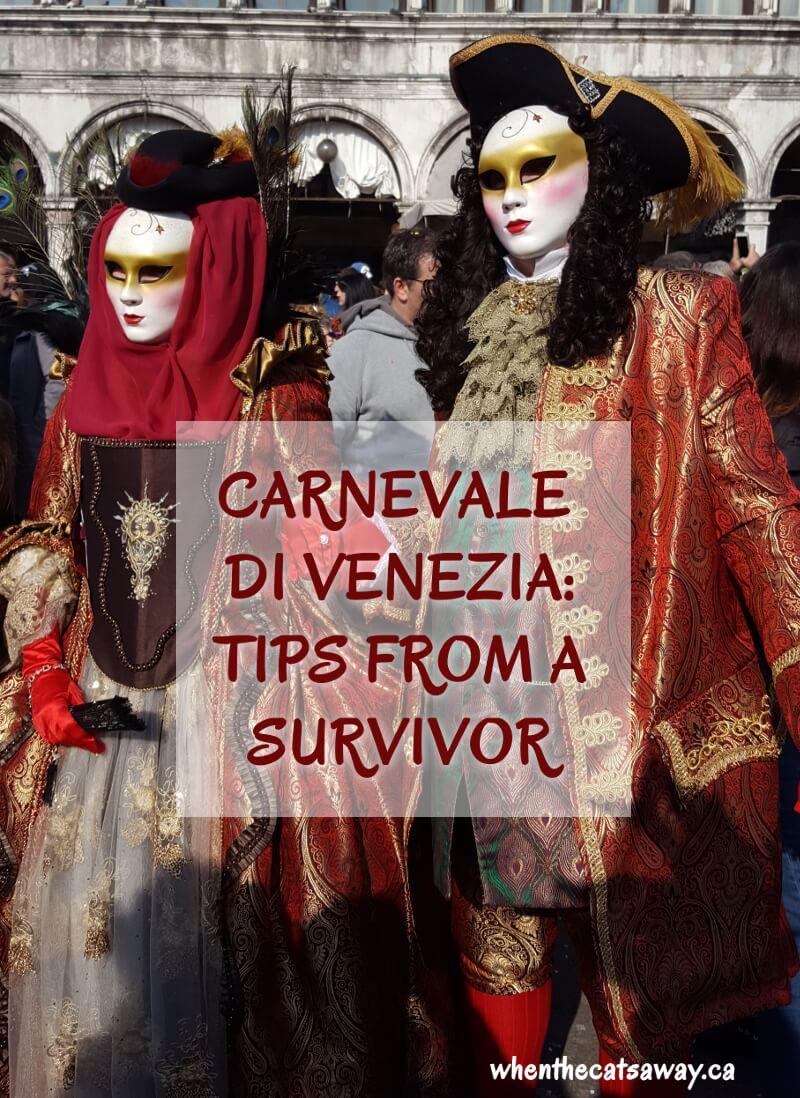 carnevale di venezia tips from a survivor when the cats away