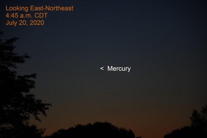 Mercury, July 20, 2020