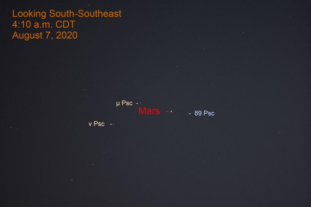 Mars in Pisces, August 7, 2020