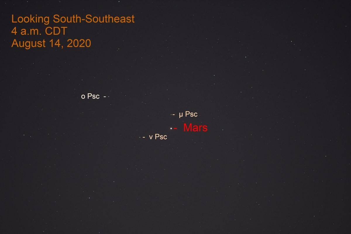Mars in Pisces, August 15, 2020