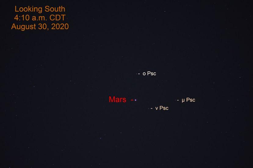 Mars in Pisces, August 30, 2020