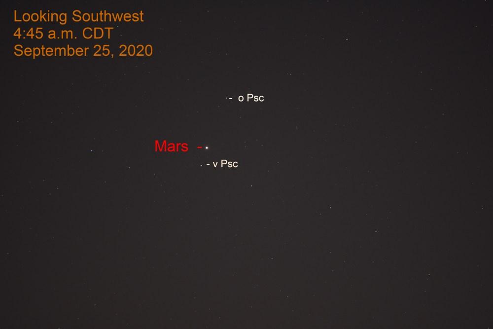 Mars in Pisces, September 25, 2020