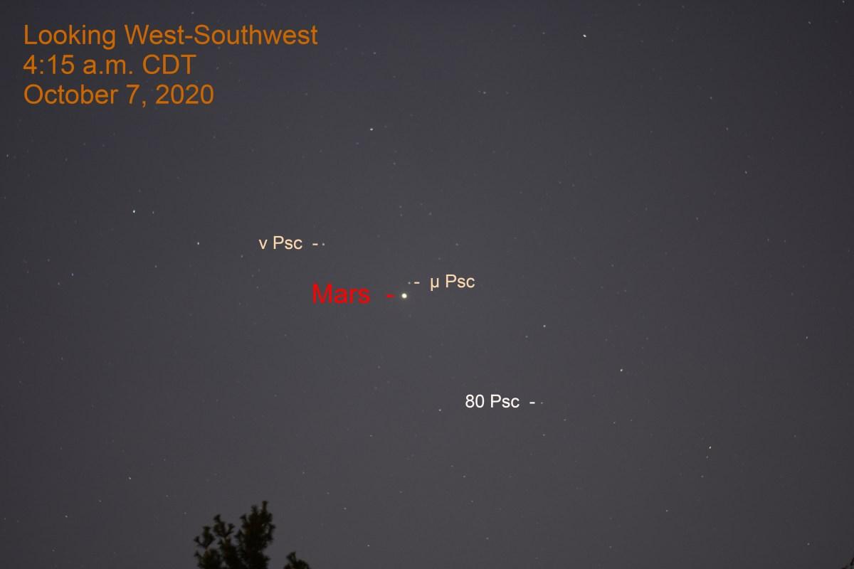 Mars in Pisces, October 7, 2020