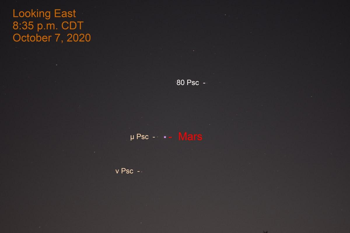 Mars in Pisces, October 8, 2020