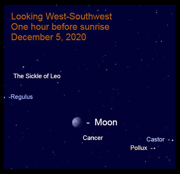 Gibbous Moon in Cancer, December 5, 2020