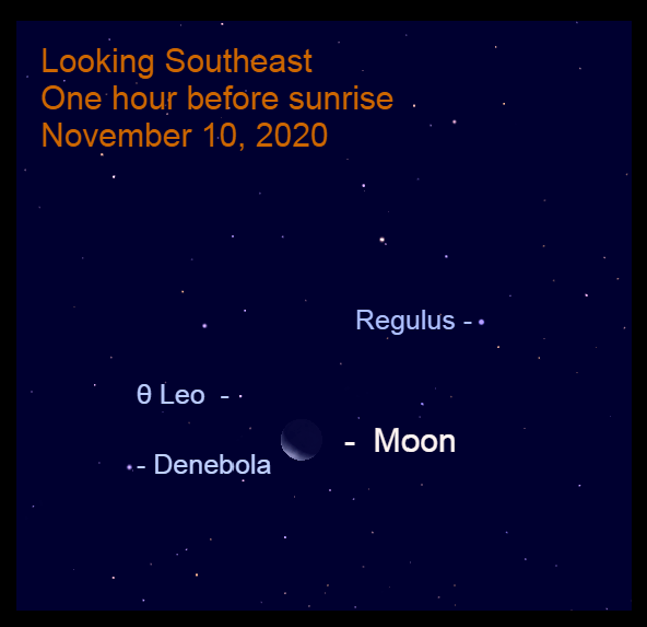 Moon in Leo, November 10, 2020