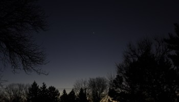 Venus, Mercury, Spica, and Moon, November 16, 2020