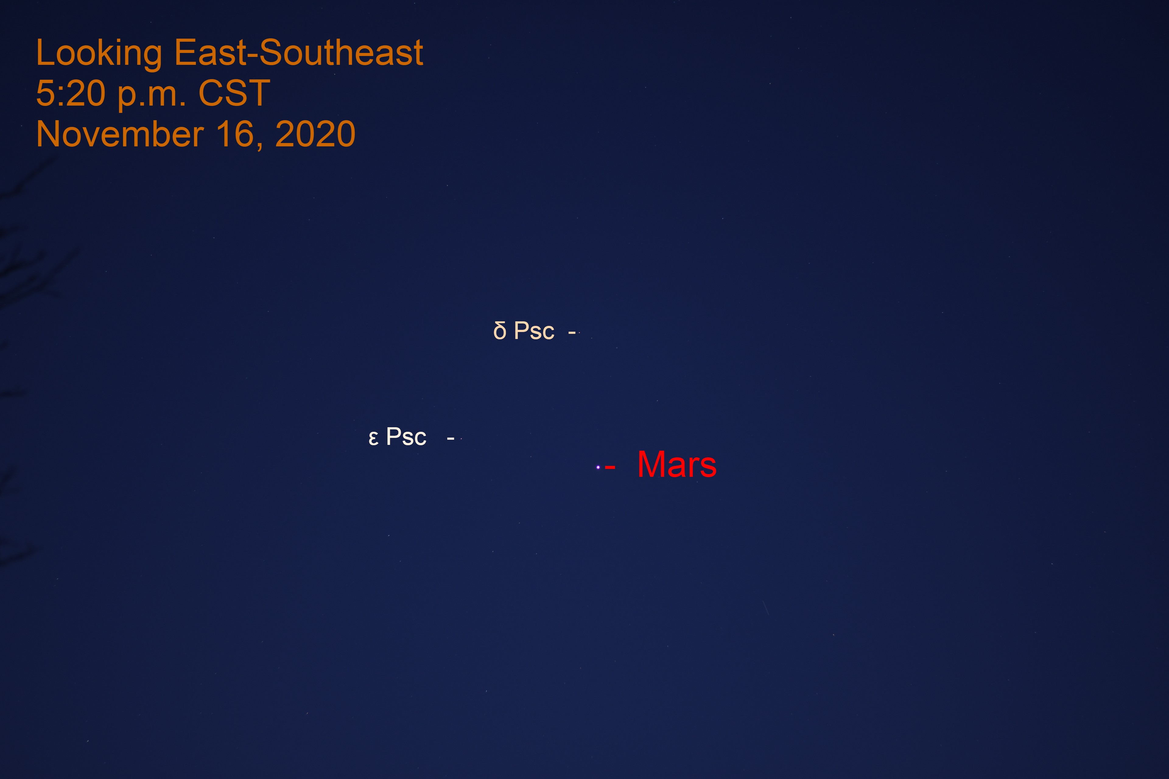 Mars, November 16,2020