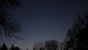 Venus and Mercury, November 20, 2020