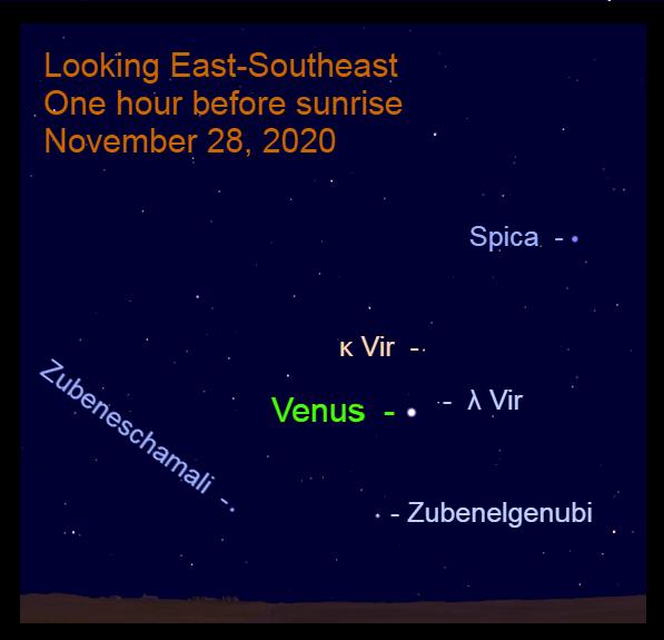 Venus in Libra, November 28, 2020