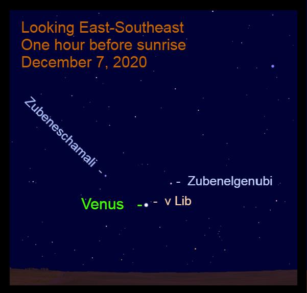 Venus in Libra, December 7, 2020
