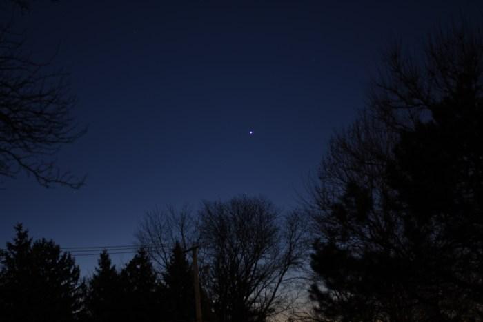 Venus, December 1, 2020