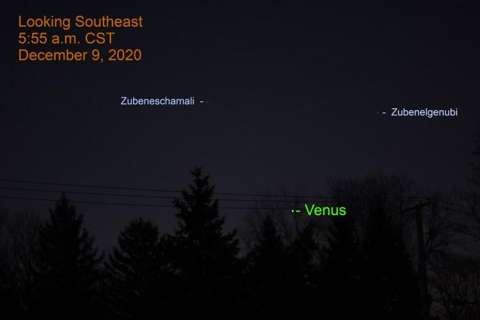 Venus, December 9, 2020