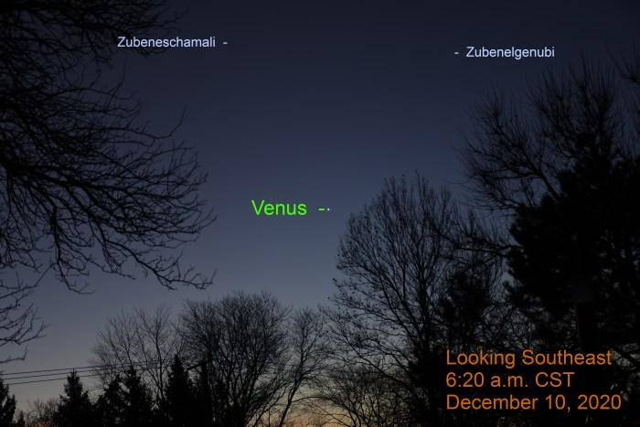Venus, December 10, 2020