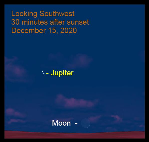 Moon, December 15, 2020