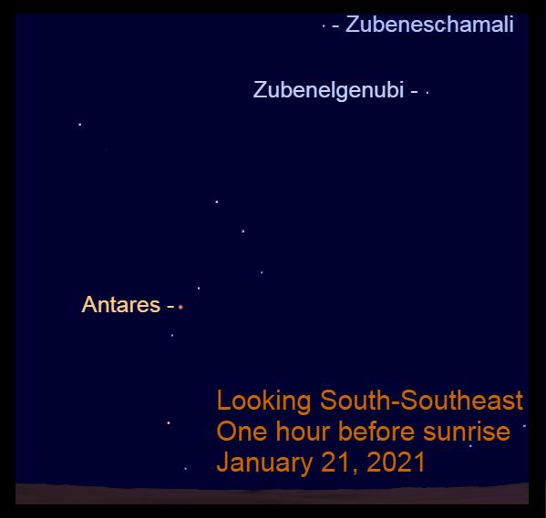 Antares, January 21, 2021