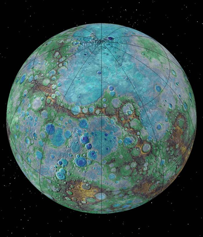 It's small, it's hot, and it's shrinking. New NASA-funded research suggests that Mercury is contracting even today, joining Earth as a tectonically active planet.