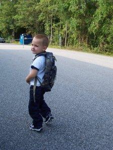 deacon started preschool