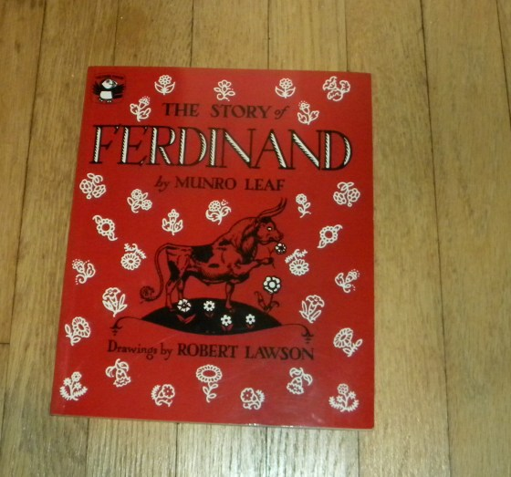 Your Bookshelf – The Story of Ferdinand – When the Kids Go to Bed