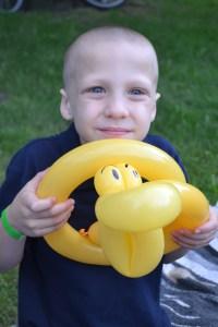 snake balloon