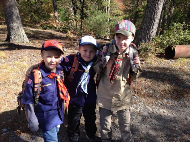 camping cub scouts