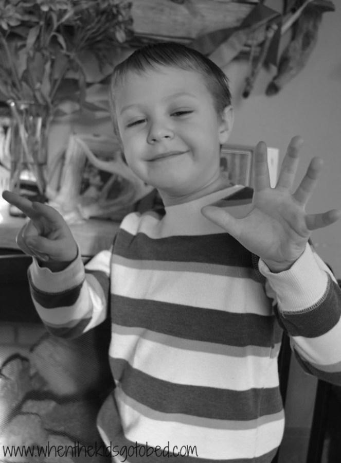 Finn age 7