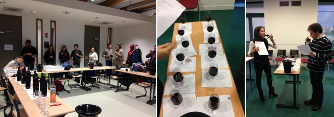 The Bandol tasting is about to begin, and wine tasting for statistics is somewhat less fun than the other kinds.