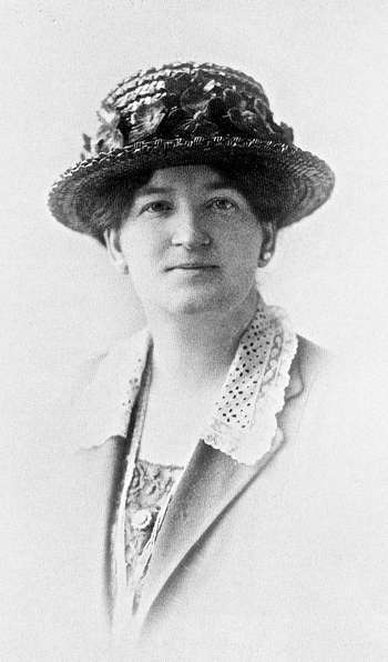 Here is Nellie McClung