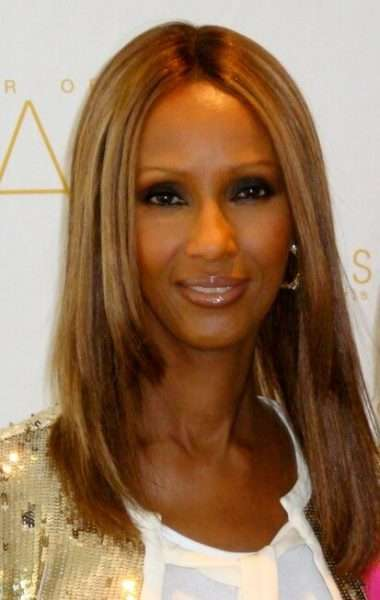 Iman leads the way for Iman Cosmetics